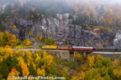Conway Scenic Rail Road in Crawford Notch, NH  #1
