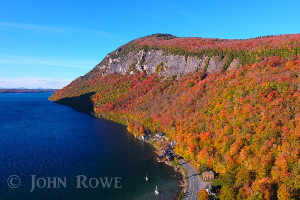 Fall at Lake Willoughby