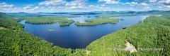Lake Umbagog Errol, NH Panorama #1