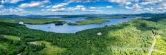 Lake Umbagog Errol, NH Panorama #2