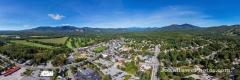 Nort Conway Village, NH Looking toward Mt Washington