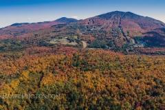 Fall at Burke Mt October 6, 2019 Panorama