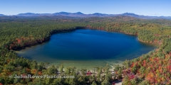 White Lake State Park Panorama  - Tamworth, NH  10/9/20