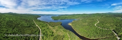 First Connecticut Lake Panorama - June 2021