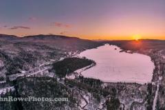 Norton Pond Sunset Panorama 12/29/20