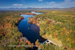 Looking Toward Berry Bay From The Dam - Ossipee Lake_NH
