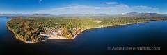 Totem Pole Panorama - Ossipee Lake, NH