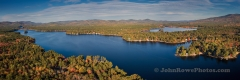 Broad Bay Panorama - Ossipee Lake, NH