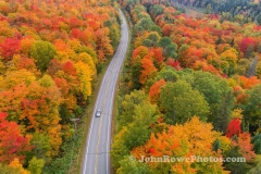 Looking down on Rte 114  Warrens Gore, VT  9/24/20