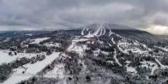 Burke Mountain Panorama 12/8/20