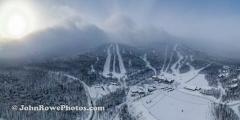Jay Peak Snow Cloud Panorama  December 2020