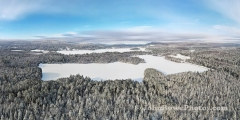 Winter Morning in Island Pond, VT