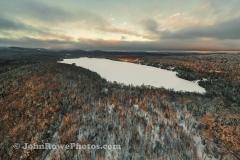 Late Day Sun on Newark Pond 1/4/21