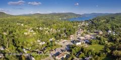 Barton Vermont Panorama