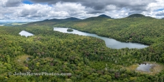 Long Pond - Westmore, Vermont Panorama