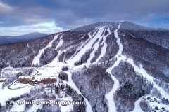 Burke Mt Vermont Mid Mountain March 2020