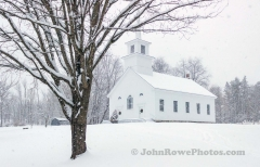 Union Meeting House in Burke Hollow, VT  December 2019