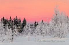Morning Sunrise  At Sentinal Rock State Park December 2019