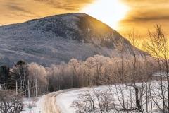 Sunrise Over Mt Pisgah December 2019