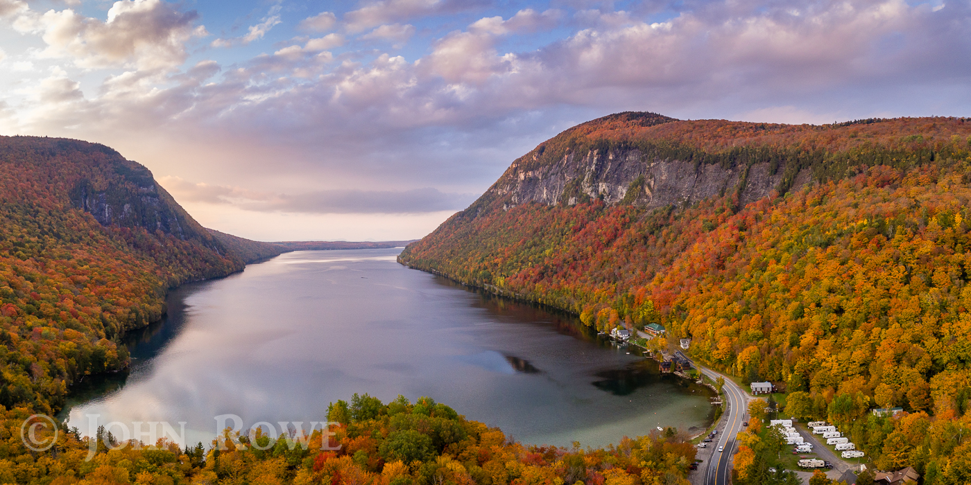 Lake willoughby westmore vermont